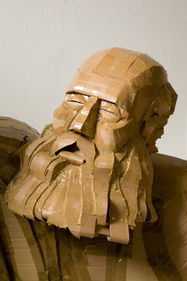 Gut bekannt 25+ unique Cardboard sculpture ideas on Pinterest | Cardboard art  TW45