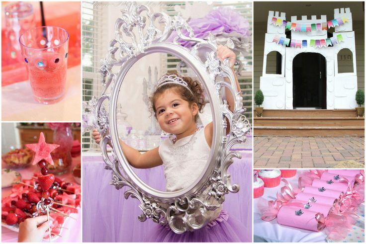 Plein de bonnes idées pour organiser une fête de princesses