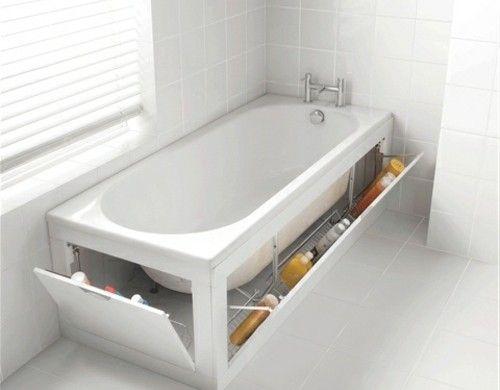 Fancy badeinrichtung badewanne mit ausklappbaren regalen