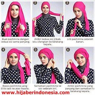 Tampil Cantik Dengan Gaya Hijab Lilit Yuk Hijabers.