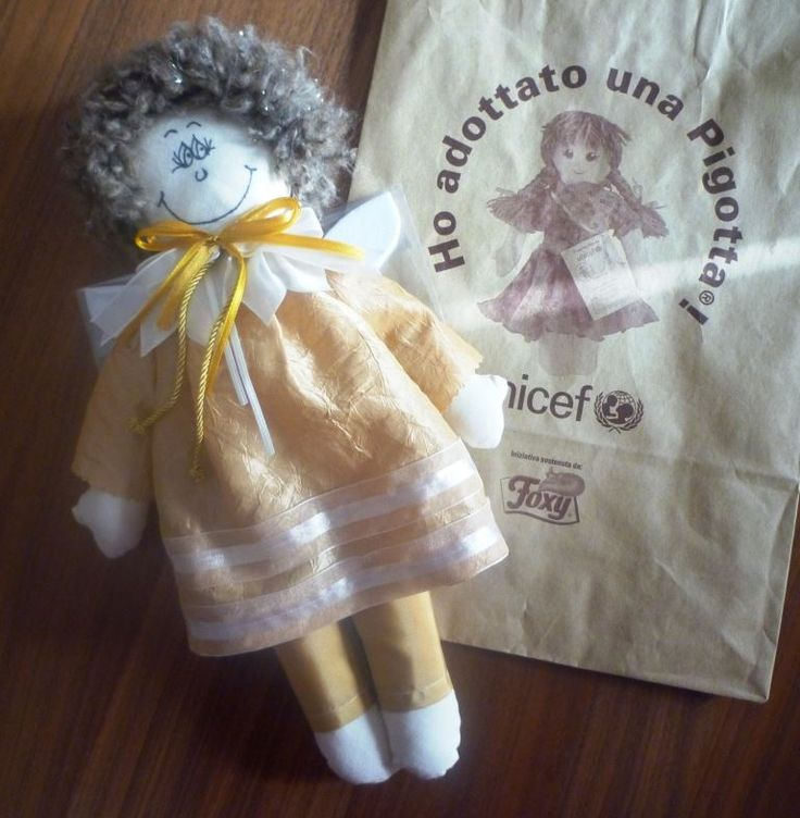 Hariel --- my first Pigotta for Unicef