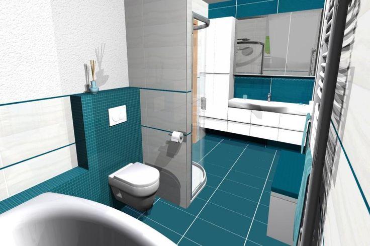 koupelna 1 - vizualiazace