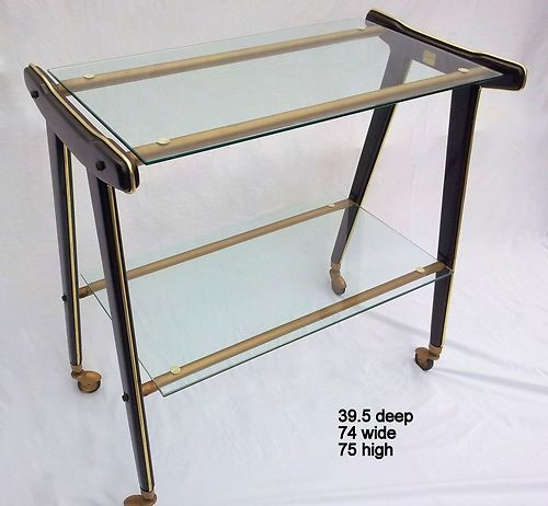 Italian Drinks Trolley/Console Table