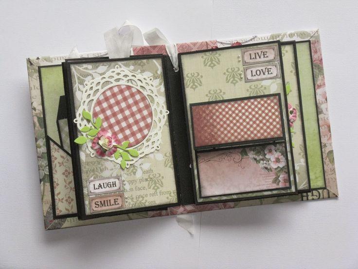 Artdeco Creations Brands: Vintage Rose Garden Mini Album by Jo Piccirilli