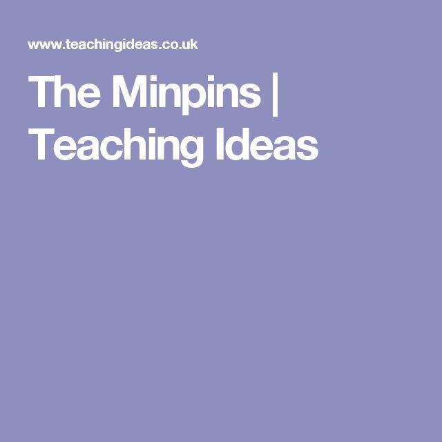 The Minpins | Teaching Ideas