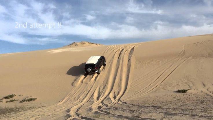 #fjcruiser #sanddune #4x4 #offroad