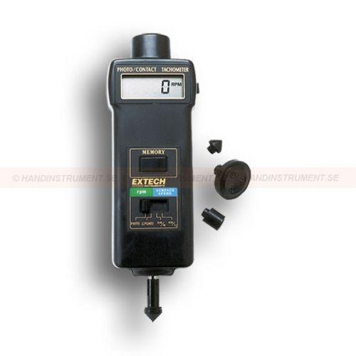 """http://handinstrument.se/tachometer-stroboskop-r1243/varvraknare-varvtalsmatare-53-461895-r1260  Varvräknare / varvtalsmätare  Tecken på displayen motsatt riktning beroende på kontakt eller fotoläge  Använder synligt ljus för att läsa upp till 6 """"(150mm) från målet  Minne / avläsningar knappen har sista behandlingen i 5 min, och påminner om min / max värden Garanti: 2 År"""