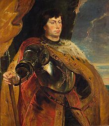 Charles the Bold, a much later portrait by Peter Paul Rubens.