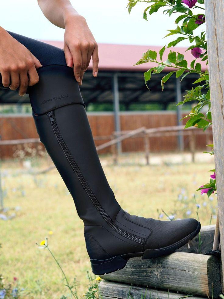The new Alberto Fasciani Riding Boots #albertofasciani #showjumping #ridingboots