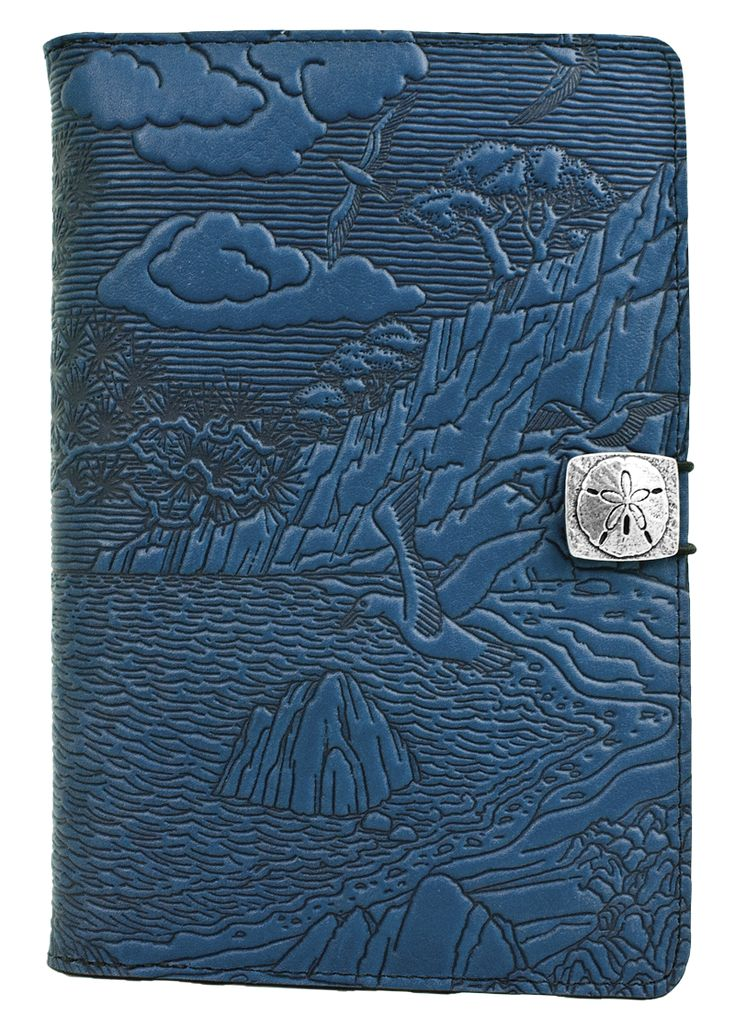 Leather iPad Mini Cover Case | Cypress Cove in Sky Blue