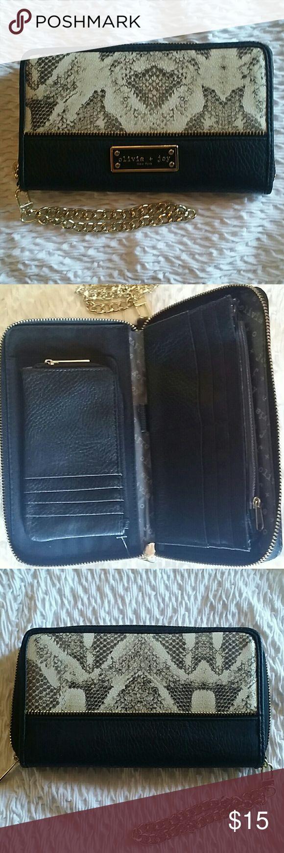 Selling this NEW Wallet by Olivia & Joy New York on Poshmark! My username is: leannbrawley. #shopmycloset #poshmark #fashion #shopping #style #forsale #Olivia & Joy #Handbags