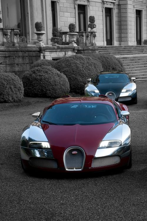 Bugatti Line-Up