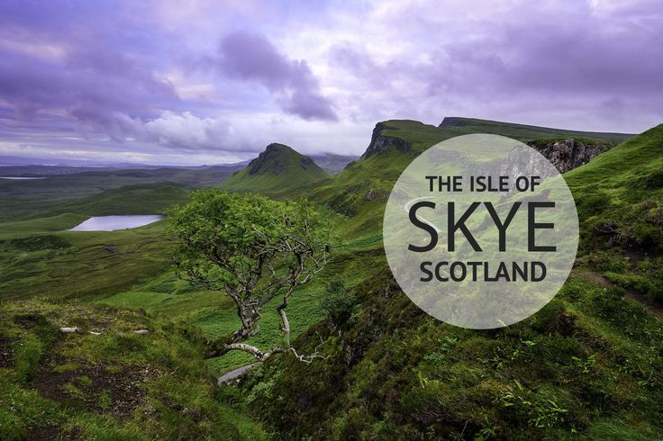 The Isle of Skye's dramatic landscapes are some of the most scenic in Scotland, and make for a perfect road trip.