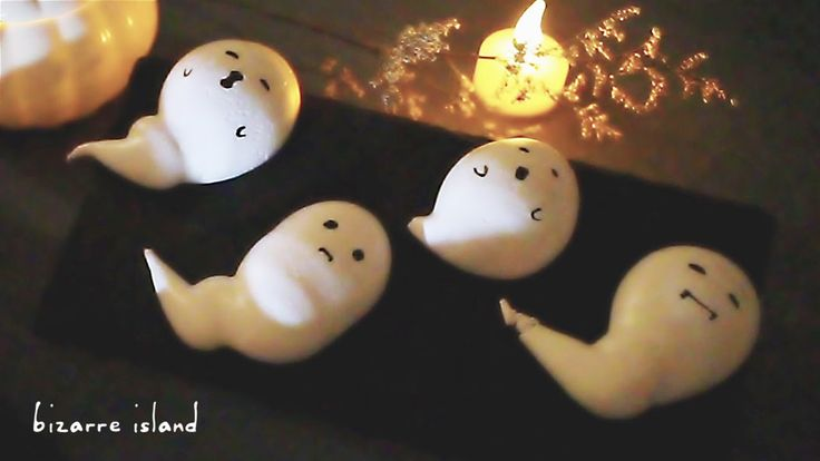 I am a ghost... easy tutorial on piped #meringue #cookies