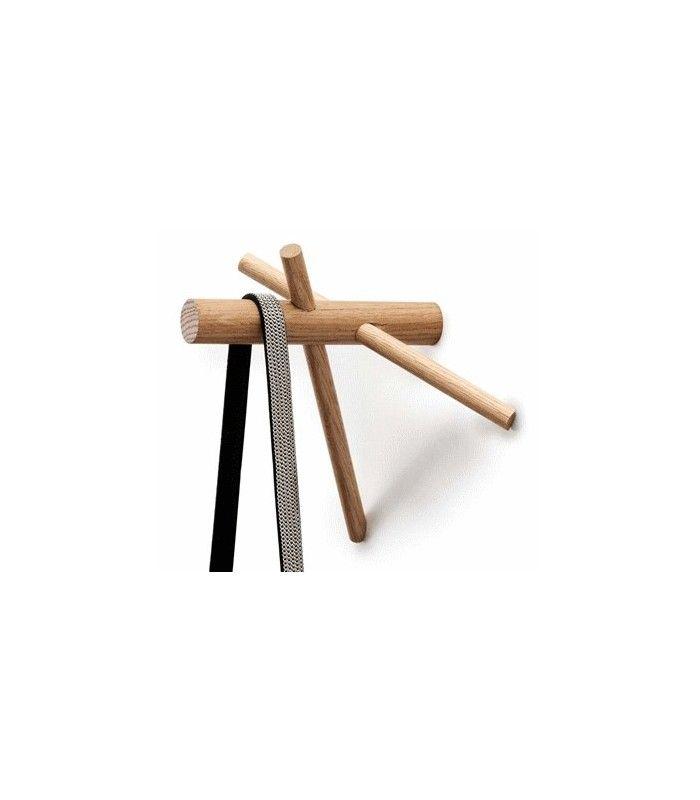 patres design en bois sticks hook nature normann copenhagen - Patere Colore