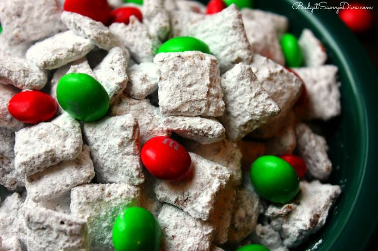 Nutella Reindeer Chow | Recipe