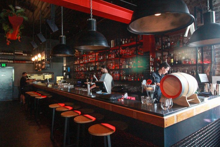 """WHO: Glamorama WHAT: Sarcastic Art WHERE: 393 Brunswick St, Fitzroy """"Glamorama is about as bold and creative a concept as you'll get. The theme runs through everything from the styling of the venue to the styling of the food."""""""
