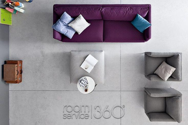 sofa chair top view