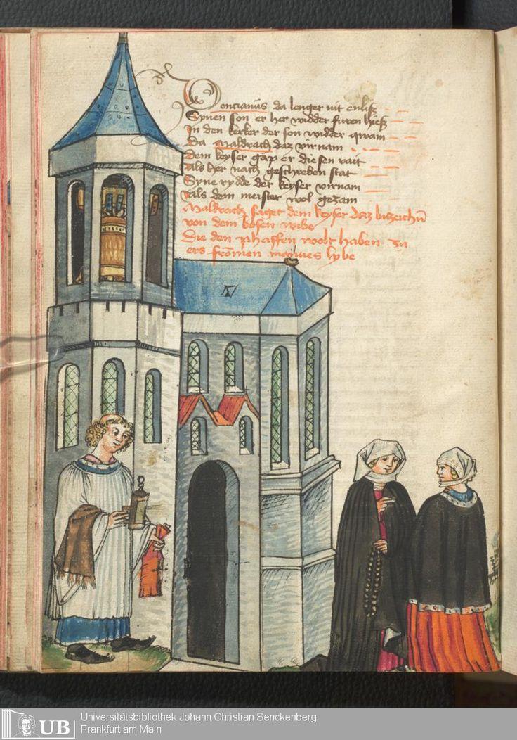 92 [44v] - Ms. germ. qu. 12 - Die sieben weisen Meister - Seite - Mittelalterliche Handschriften - Digitale Sammlungen