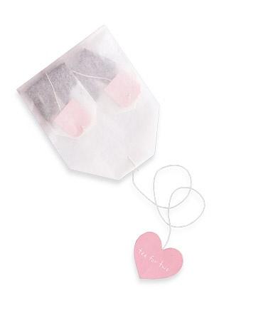 Tea bags wedding favors