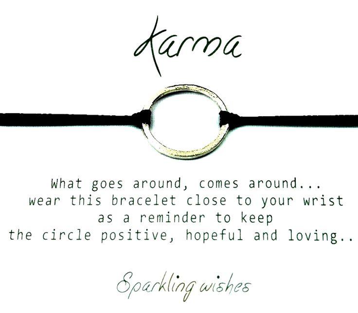 Bracelet Karma from Joytag; www.smykkeboden.no     NOK 399.-