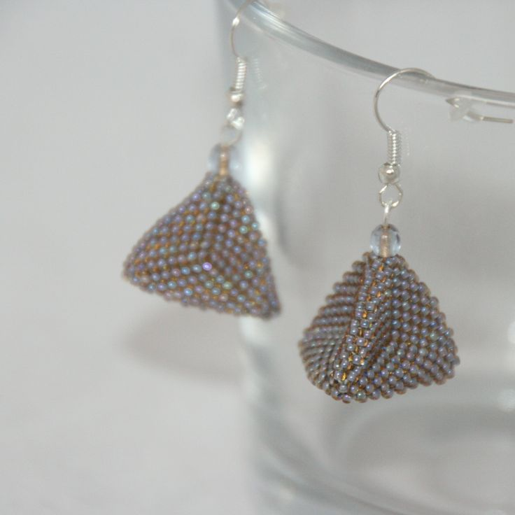 MEX JEWELLERY - Triangles, Pyramid, TOHO Beads