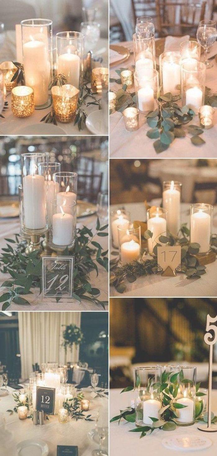 Romantic Wedding Centerpiece Ideas With Candles Emmalovesweddings