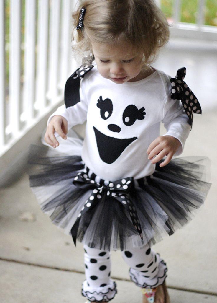 Ghost Halloween Tutu Costume