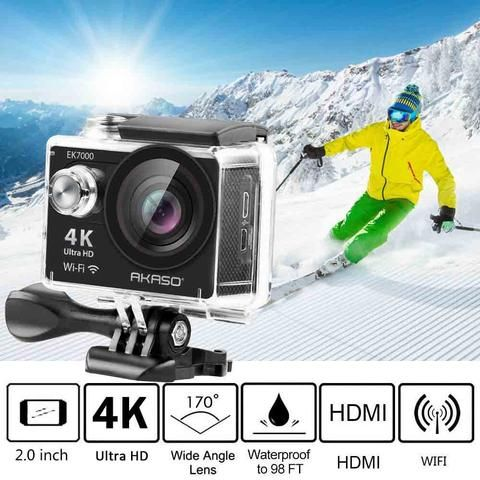 4K WIFI Outdoor Action Camera