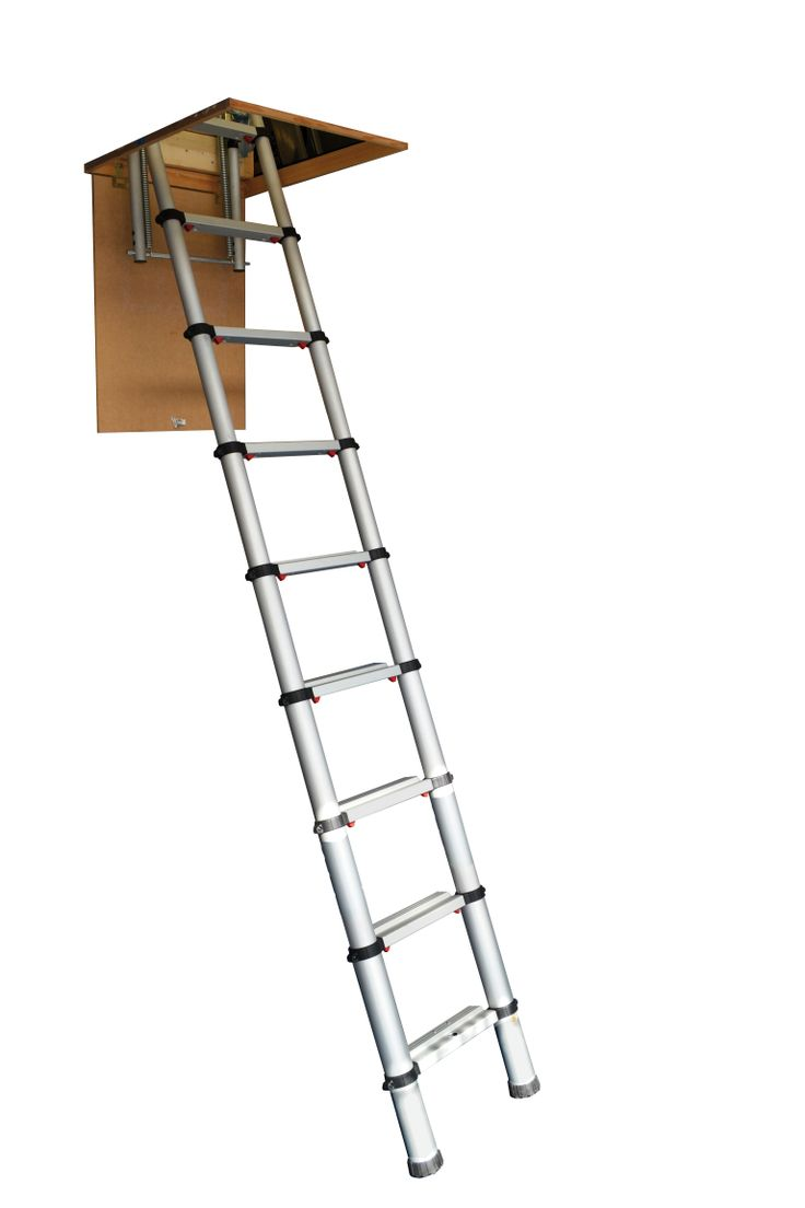 The Youngman Telescopic Loft Ladder. Our new telescopic ladder is probably the smartest and most compact solution to a very common problem – getting up into the loft. The worlds first truly telescopic loft ladder, its main advantage is that the ladder is completely housed within the loft opening taking up no space at all within the loft. Made from anodised aluminium with durable yet comfortable surface. The ladder's large 90mm treads give added comfort and safety.