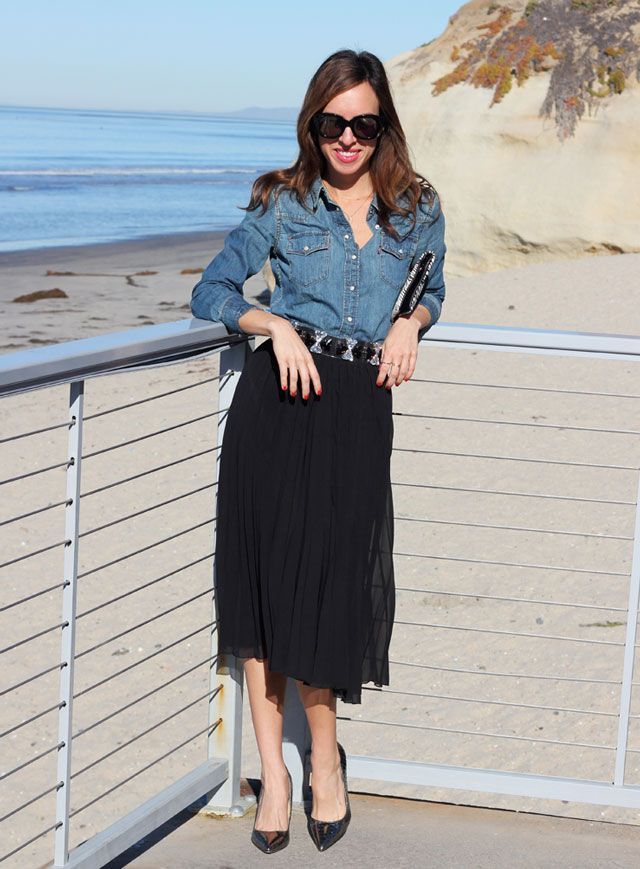 Sydne-Style-Fab-14-giveaway-asos-gift-voucher-gift-card-win-solana-beach-san-diego-denim-shirt-pleated-skirt