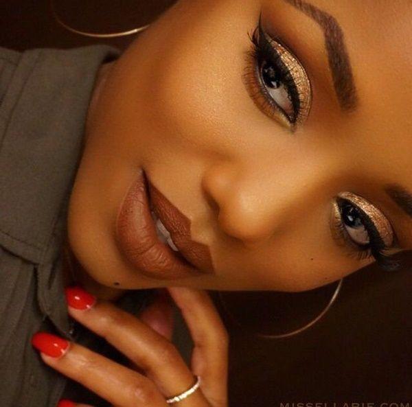 17 Best Ideas About Black Girl Makeup On Pinterest | Brown Skin Makeup Makeup For Brown Skin ...