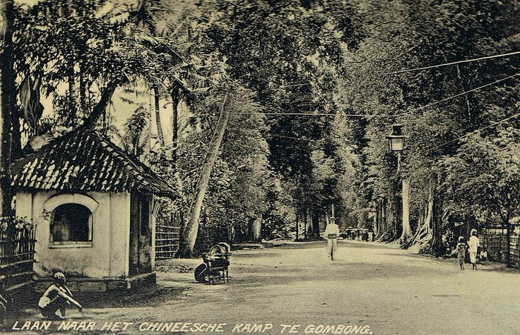 Tempo Doeloe #67 - Gombong, Road to the Chinese Quarter, 1912