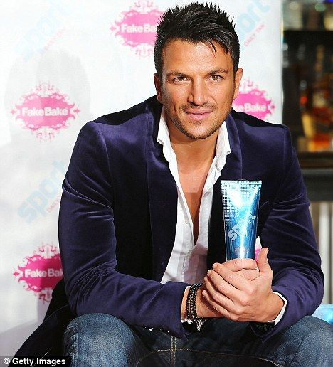 Peter Andre launches Fake Bake tan!