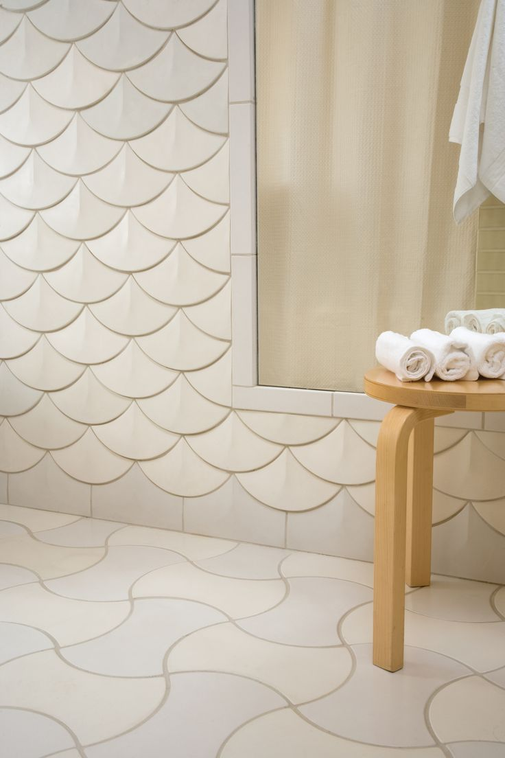 Tile Week 2011, Day 3: Concrete Tiles That Look And Feel As Smooth As Silk.  Tiles For BathroomsBathroom IdeasBathroom ...