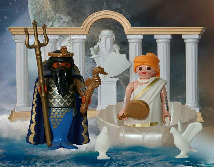 Poseidon y Afrodita