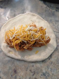 The Cookin' Chicks: Chicken Taco Melts