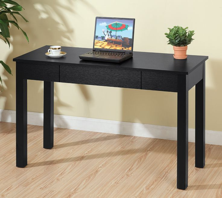 This Table Has A Shallow Depth, Perfect To Go Behind A Sofa Table, And  Functional With A Storage Drawer For Your Laptop.