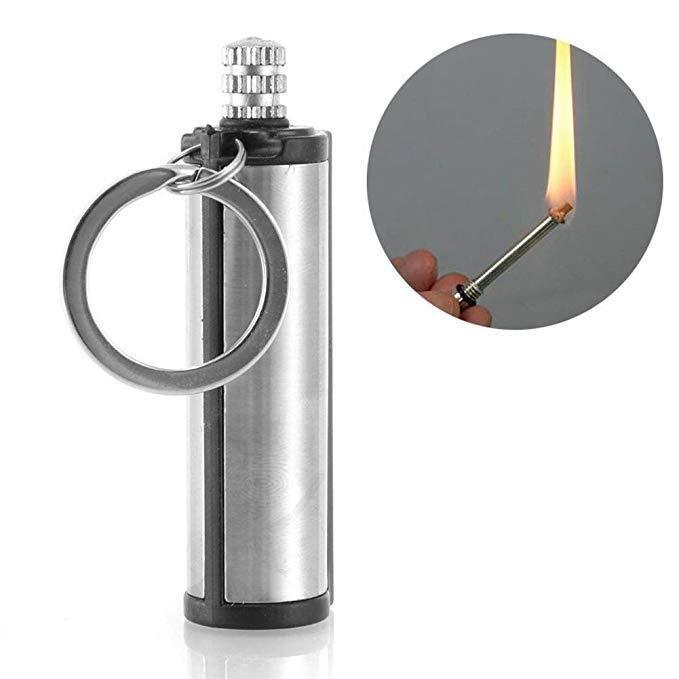 10x Survival Emergency Waterproof Camping Fire Starter Metal Perma Match Lighter