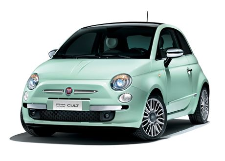 The New Fiat 500 Cult.