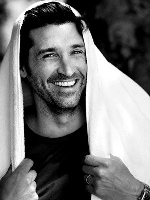 30 Day Grey's Anatomy Challenge - Day 8: Favorite male actor. I'd have to say Patrick Dempsey would be my favorite. It was tough, but those eyes, that smile and his hair! Yum!