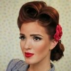 Great page for 50s updos and more with tutorials!! <3