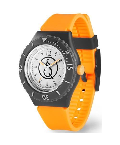 Reloj para bucear SMILE SOLAR Q&Q by Citizen Ecológico Unisex caja de 43 milimetros funciona sin pilas sumergible 20 bar y fabricado con materiales reciclados RP04J004Y Reloj SMILE SOLAR Q&QRP04J004Y Precio 59.9 €