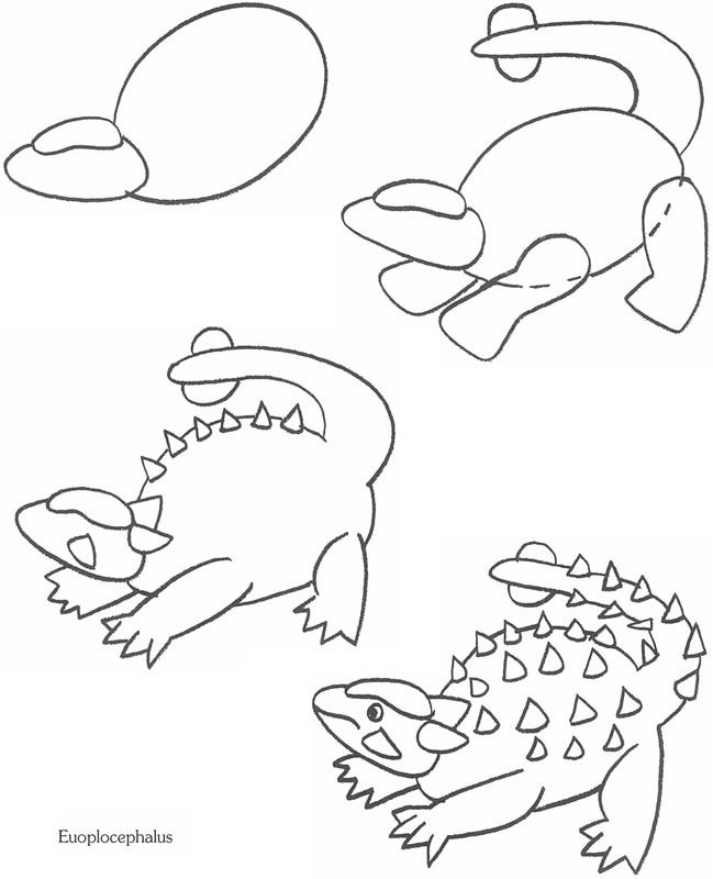 The 25+ best How to draw dinosaurs ideas on Pinterest