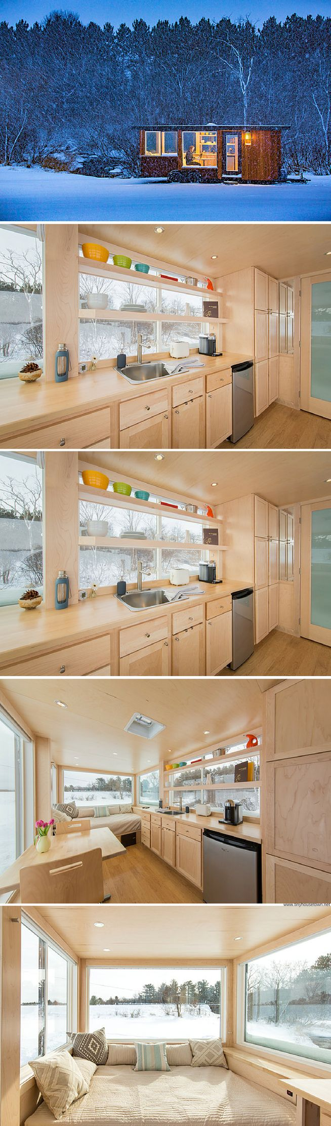 The Vista: a 160 sq ft tiny house