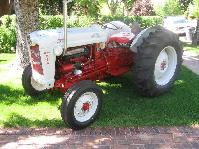1956 Ford Tractor : Images about ford jubilee on pinterest old