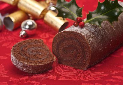 Recette Bûche de Noël au chocolat - Coup de Pouce @CréezVotreFestin
