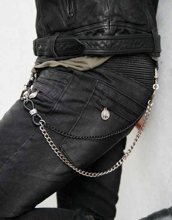 Accessories :: Gadgets :: Street-Edge Two Tone Chain-Gadget 04 - Mens Fashion Clothing For An Attractive Guy Look