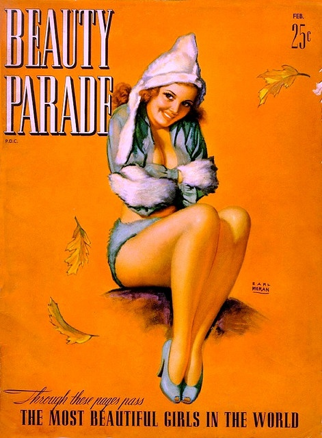 Beauty Parade - 1942 02  - Earl Moran Cover Art by kocojim, via Flickr