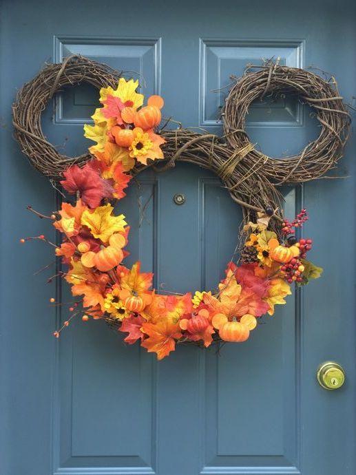 26 Fall Wreath Ideas For Your Front Door Décor